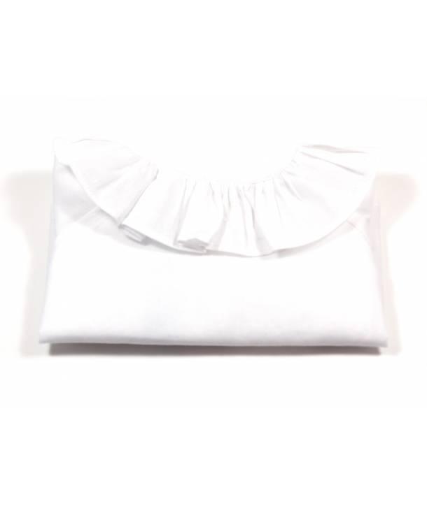 Chemisier Bertille Blanc 30 cm