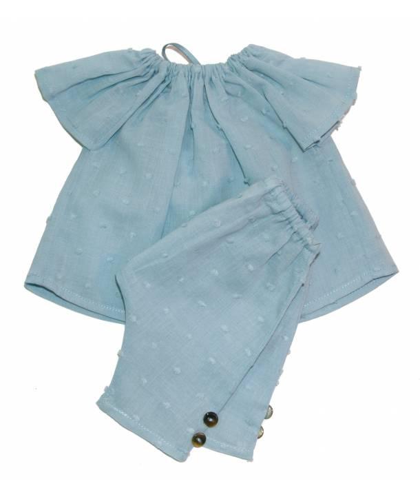 Pyjama épinard