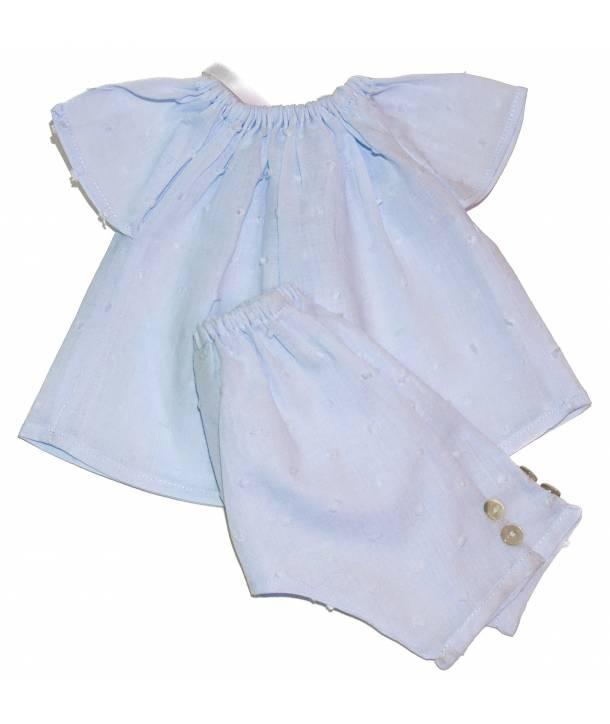 Pyjama Constantin Bleu ciel 36 cm