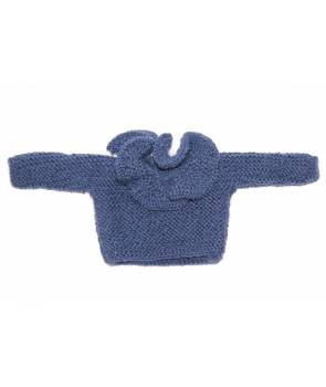 Pull Aglae - Denim blue - 13 inches
