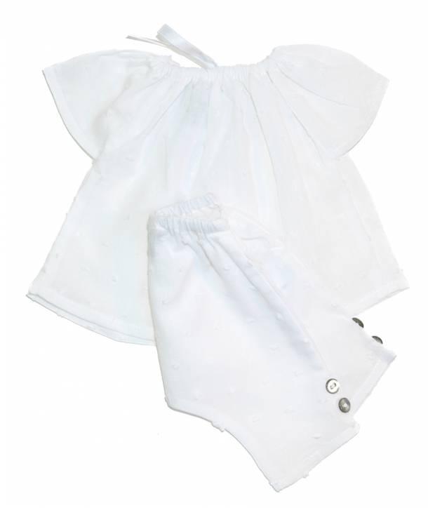 Pyjama Constantin Blanc 36 cm