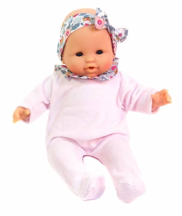 Pyjama Philémon Rose pâle / Betsy porcelaine 30 cm