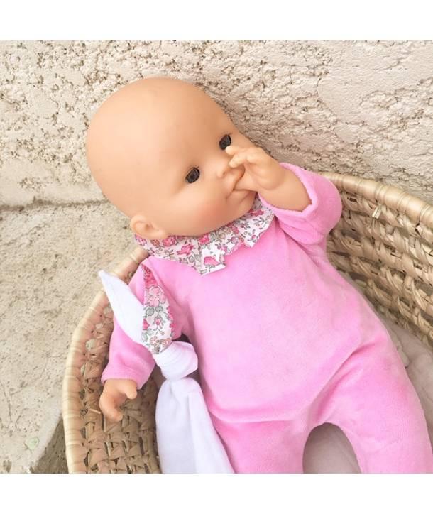 Pyjamas Philemon - Light pink / Betsy porcelaine - 14 inches