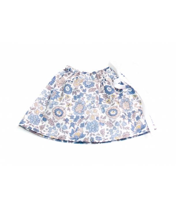 Jupe Félicie d'Anjo bleu 33 cm