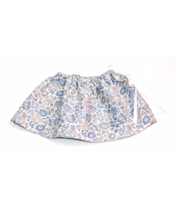 Jupe Félicie d'Anjo bleu 30 cm