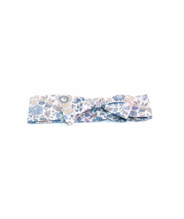 Bandeau Léontine d'Anjo bleu 36 cm