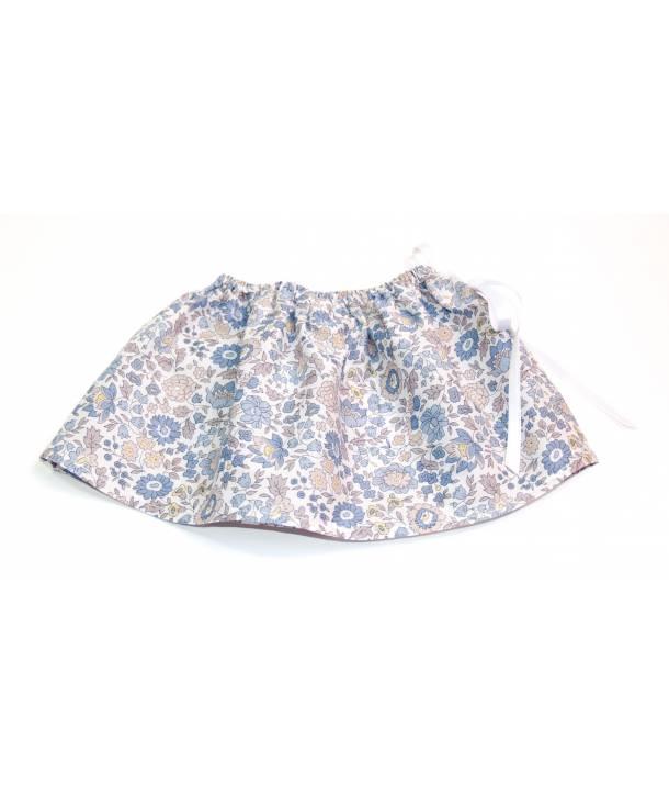 Jupe Félicie d'Anjo bleu 36 cm