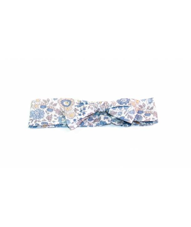 Bandeau Léontine d'Anjo Bleu 30 cm