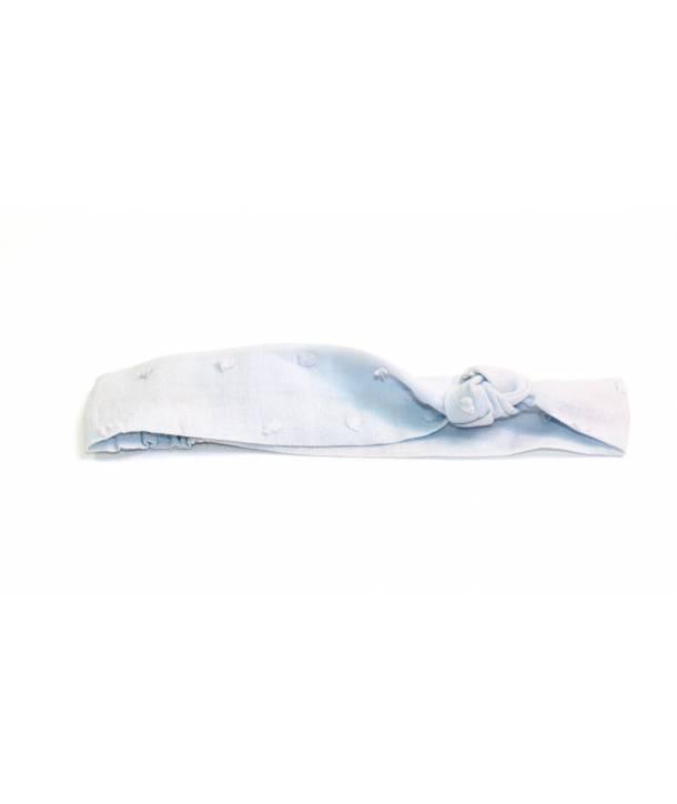 Bandeau Rosalie Bleu ciel 30 cm