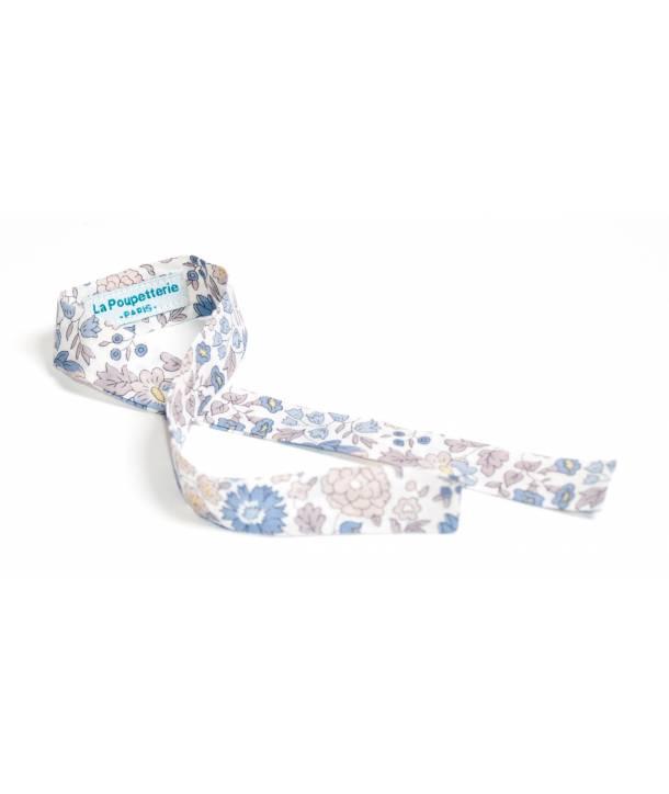 Ruban Adèle d'Anjo bleu 33 cm